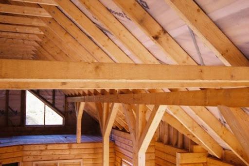 Construcción con madera de haya