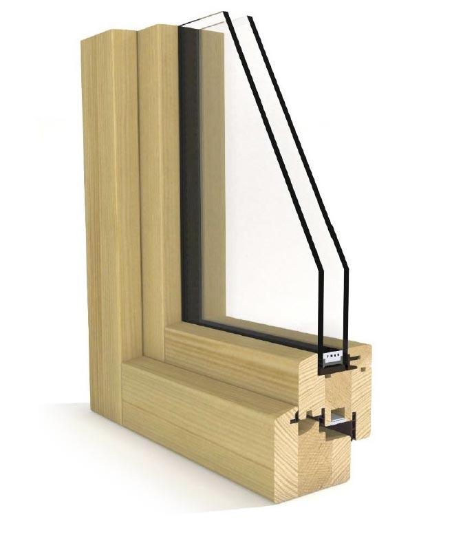 Perfil carpintería Carpintek modelo Energytek doble vidrio 69mm